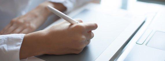 手書き入力